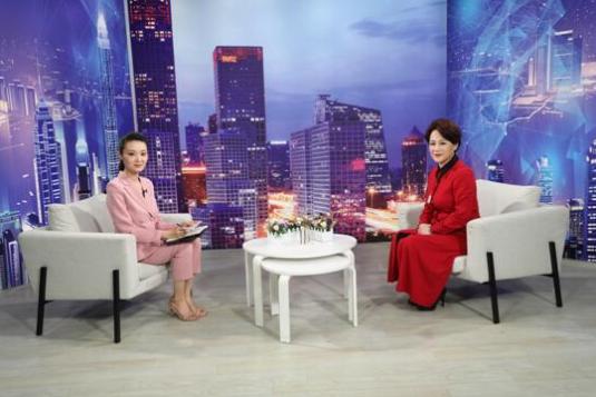 """""""普乐健康科技""""创始人姜雅秋做客《崛起中国》"""