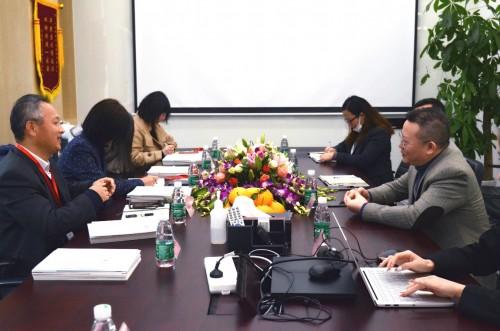 上海市徐汇区人社局领导莅临眼控科技考察指导