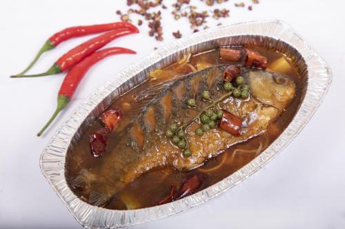 探店!一人食美味,倔强的小鱼烤鱼捞饭,米饭分分钟吃三大碗!